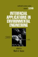 Interfacial applications in environmental engineering [electronic resource]