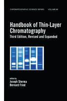 Handbook of thin-layer chromatography [electronic resource]