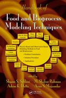 Handbook of food and bioprocess modeling techniques [electronic resource]