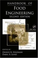 Handbook of food engineering [electronic resource]