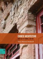 Chinese architecture in an age of turmoil, 200-600 cover