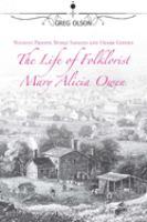 The Life of Folklorist, Mary Alicia Owen