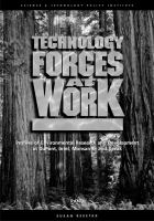 Technology forces at work. executive summary [electronic resource] : profiles of environmental research and development at Dupont, Intel, Monsanto, and Xerox