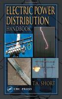 Electric power distribution handbook [electronic resource]