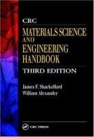 CRC materials science and engineering handbook [electronic resource]