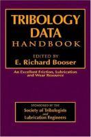 Tribology data handbook [electronic resource]