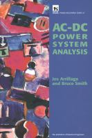 AC-DC power system analysis [electronic resource]