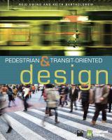 Pedestrian- & Transit-oriented Design