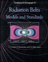 Radiation belts [electronic resource] : models and standards