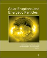 Solar eruptions and energetic particles [electronic resource]