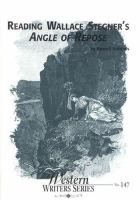 Reading Wallace Stegner's Angle of Repose