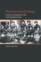 Women in God's army : gender and equality in the early Salvation Army