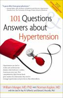101 Questions & Answers About Hypertension