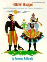 Folk Art Designs to Color or Cut From Polish Wycinanki and Swiss and German Scherenschnitte