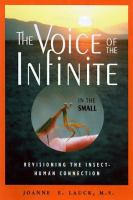 The voice of the infinite in the small : revisioning the insect-human connection