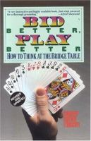 Bid Better, Play Better