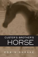 Cover of the book Custer's brother's horse