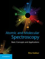Atomic and molecular spectroscopy : basic concepts and applications cover