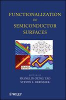 Functionalization of semiconductor surfaces [electronic resource]