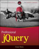 Professional jQuery. [electronic resource]
