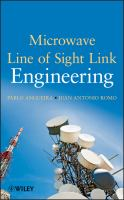 Microwave line of sight link engineering [electronic resource]
