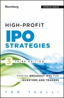 High-profit IPO Strategies