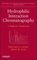 Hydrophilic interaction chromatography [electronic resource] : a guide for practitioners