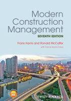 Modern construction management [electronic resource]