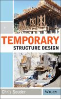 Temporary structure design [electronic resource]