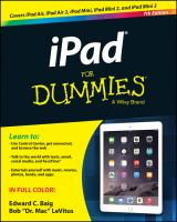IPad® for Dummies®