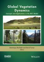 Global vegetation dynamics : concepts and applications in the MC1 model