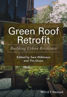 Green roof retrofit : building urban resilience cover