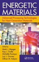 Energetic materials : advanced processing technologies for next-generation materials cover image