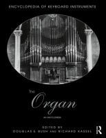 The organ : an encyclopedia