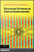 Structured surfaces as optical metamaterials [electronic resource]