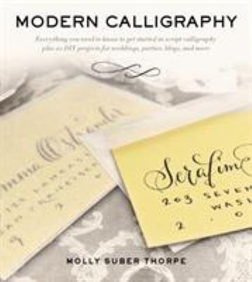 Modern Calligraphy book