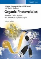 Organic photovoltaics [electronic resource] : materials, device physics, and manufacturing technologies