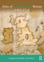 Atlas of early modern Britain [electronic resource]