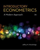 Introductory econometrics : a modern approach /