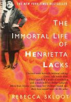 Cover Image of Immortal Life of Henrietta Lacks