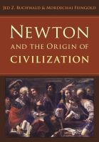 Newton and the origin of civilization [electronic resource]