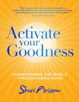 Cover Image of Activate your goodness