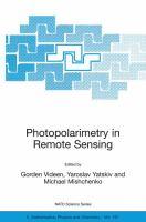 Photopolarimetry in remote sensing [electronic resource]