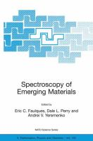 Spectroscopy of emerging materials [electronic resource]
