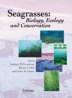 Seagrasses [electronic resource] : biology, ecology, and conservation
