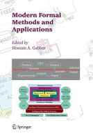 Modern formal methods and applications [electronic resource]