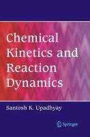 Chemical kinetics and reaction dynamics [electronic resource]