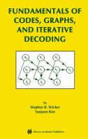 Fundamentals of codes, graphs, and iterative decoding [electronic resource]