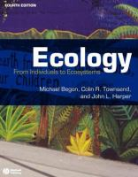 Ecology [electronic resource] : from individuals to ecosystems