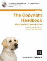 Copyright handbook : what every writer needs to know